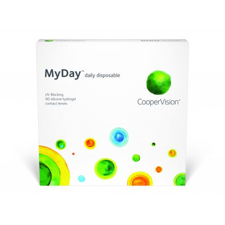 Coopervision MyDay Daily Disposable 90pk