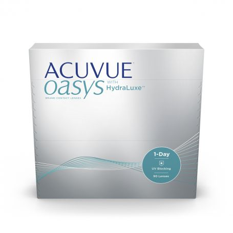 Acuvue Oasys 1 Day w/ Hydraluxe 90pk